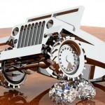 Os mais incríveis projetos em 3D para anéis com jipes