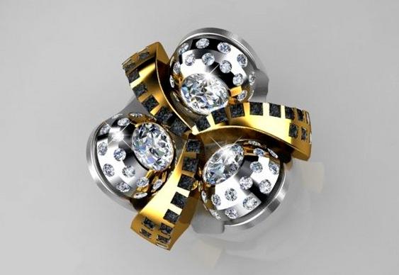 Réplica de perfuratriz diamantada