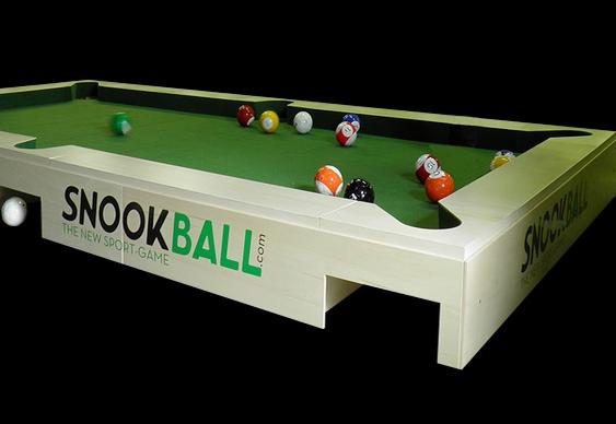 Novo esporte para encaçapar as bolas