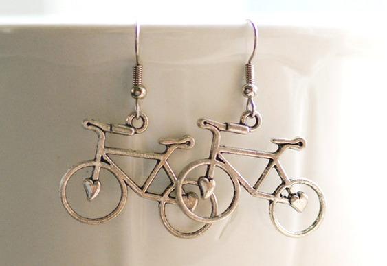 Bikes banhadas a prata