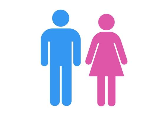 Cores para homens e mulheres