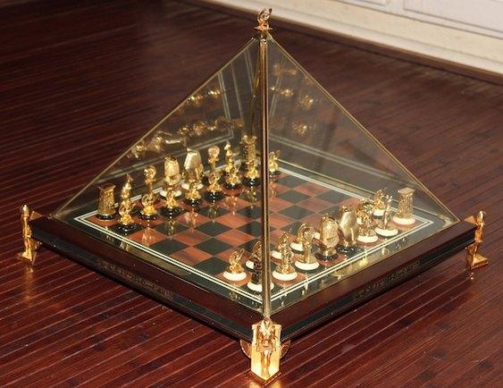 Jogo de xadrez lindo