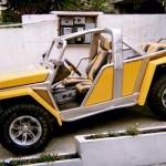 Um incrível projeto de transformação de um jipe Lada Niva