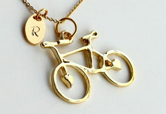 Bike banhada a ouro