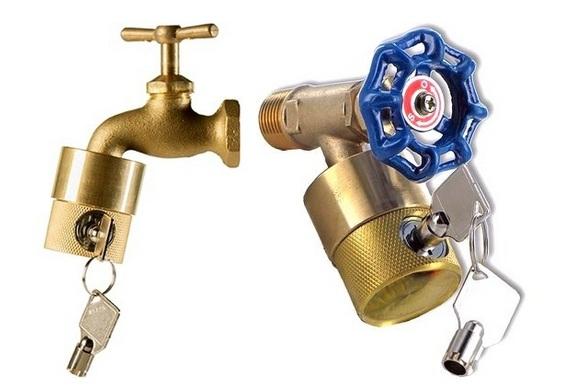 Proteção contra roubo de água