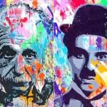 Por que Einstein e Chaplin foram convertidos em celebridades?