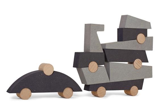 Joguinho educativo de madeira e MDF