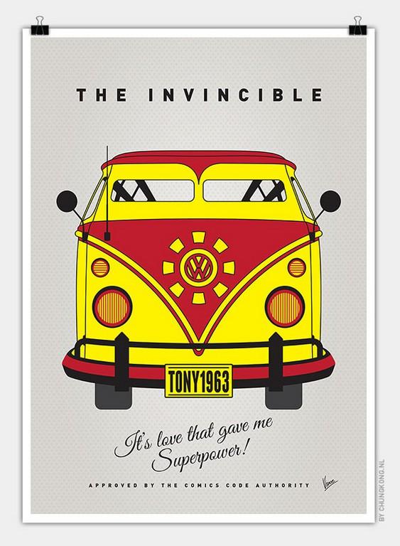 VW Bus Iron Man