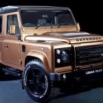 Jipe Land Rover Defender customizado para rodar na cidade