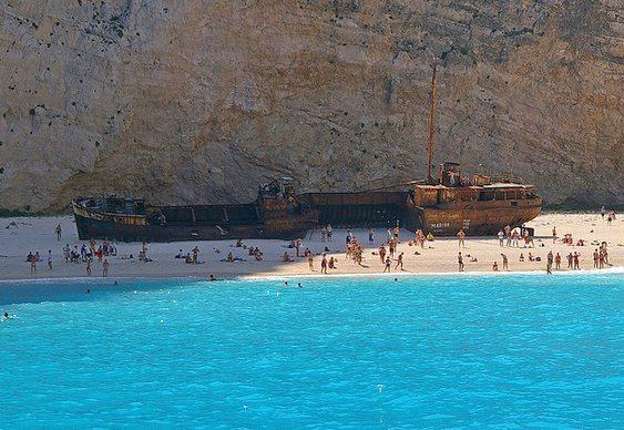 Ilha de Zakynthos na Grécia