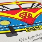 Kombis dos super-heróis numa fantástica coleção de posters