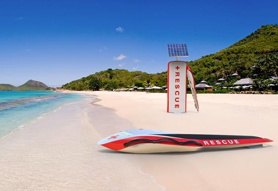 Inovação tecnológica nas praias