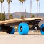 Skate elétrico ZBoard em nova versão mais fina, leve e rápida