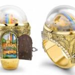 O fantástico anel com um pote de ouro debaixo do arco-íris