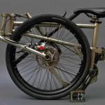 A bicicleta dobrável de titânio mais leve e compacta do mundo