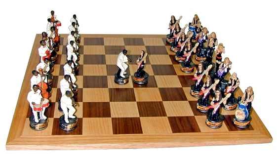 Jogo de xadrez diferente