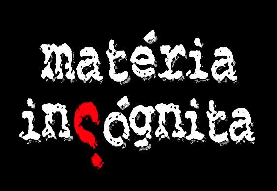 Símbolo do blog Matéria Incógnita