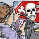 Vídeo espetacular adverte contra uso de celular no trânsito