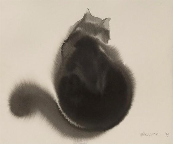 Pintura de gatinho
