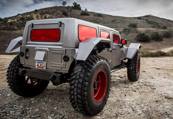 Jeep único