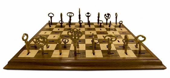 Xadrez com fechaduras