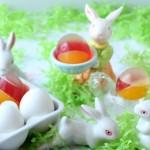 Páscoa mais bonita e saudável com ovos de gelatina colorida