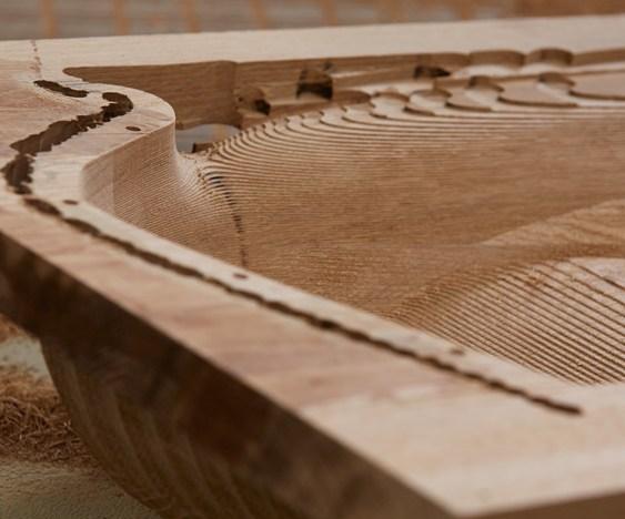 Fresa CNC de madeira