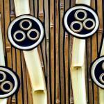 Painéis, divisórias e molduras artesanais de bambu reciclado