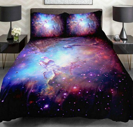 Roupa de cama com estrelas