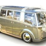Kombi 'de volta para o futuro' em nova versão para camping