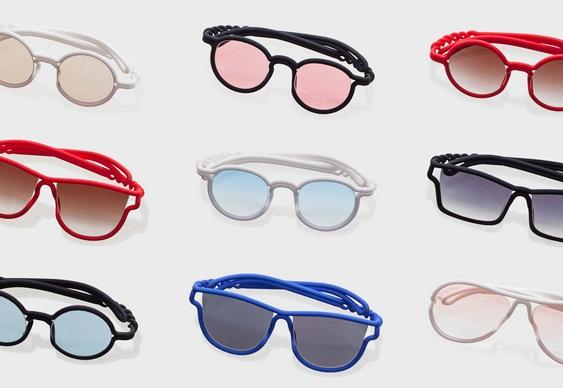 Novos modelos para óculos de sol