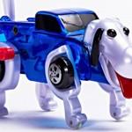 Dogformer, o cão que se transforma em caminhão e vice-versa