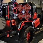 Sonzeira de Jeep para animar a festa como um trio elétrico