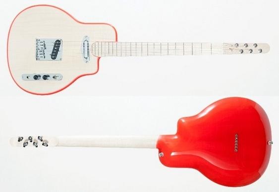 Guitarra elétrica custom