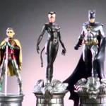 A batalha final entre Batman e Coringa no jogo de Xadrez