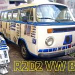 Gaúcho envelopa Kombi como robô R2-D2 de Guerra nas Estrelas
