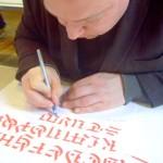Profissão Calígrafo: fama e riqueza com a arte da bela escrita