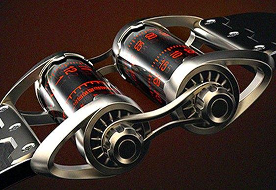 Relógio com design inovador