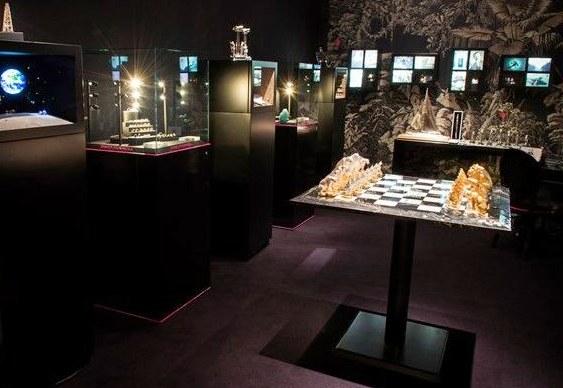 Jogo de xadrez luxuoso