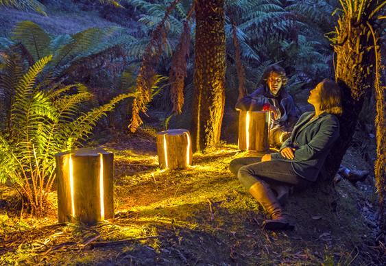 Projeto para iluminação de jardim