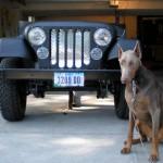 Mulher transforma Jeep raro numa churrasqueira a reboque
