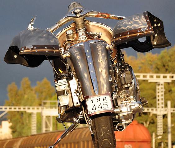 Scooter steampunk