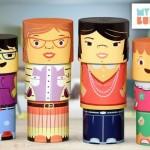 Brinquedo de montar que celebra a diversidade familiar