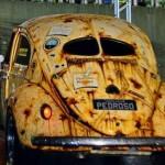 Pintura 'enferrujada' serve de seguro contra roubos de carros
