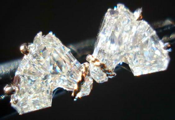 Lapidação de diamantes cavalos