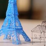 Com a verdadeira caneta 3D você escreve e desenha até no ar