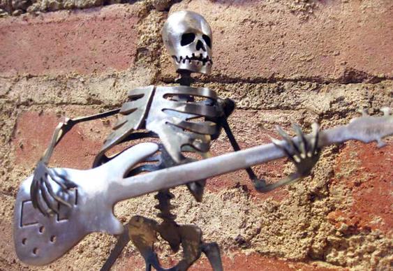Esqueleto baixista