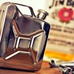 Miniatura de galão de jipe para reabastecer com bebidas