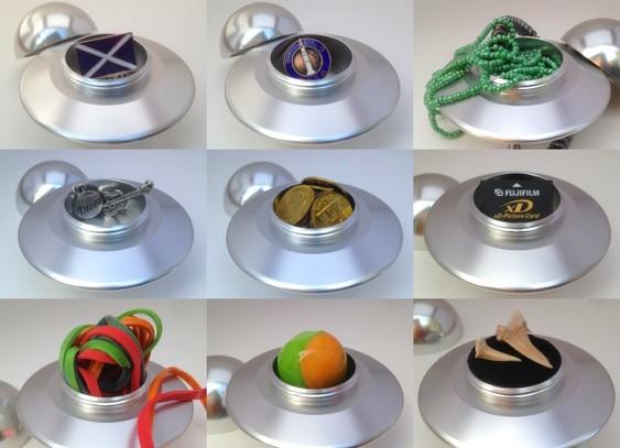 Disco voador de alumínio