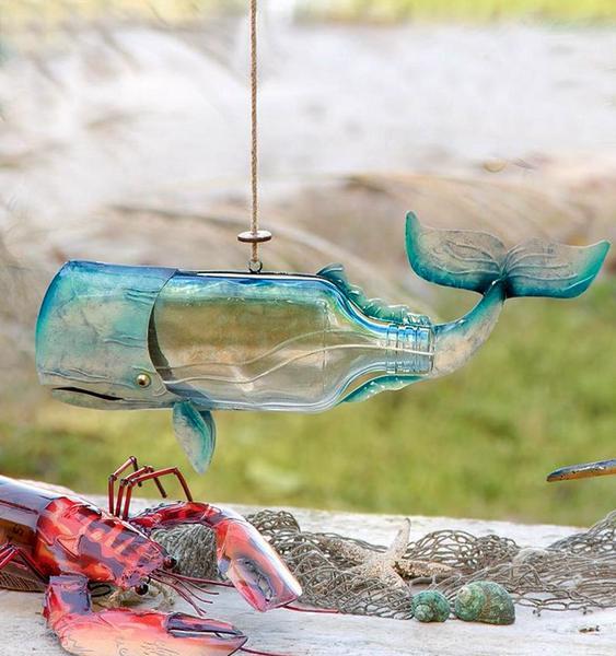 Decoração com animais marinhos